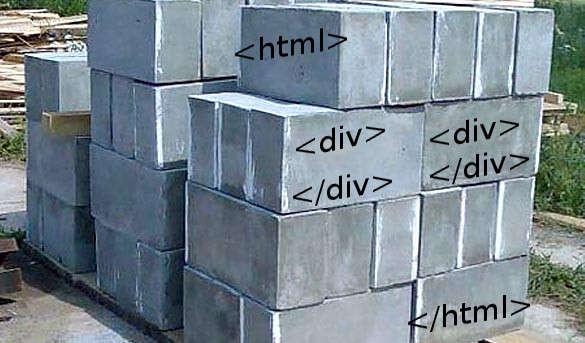 html блоки